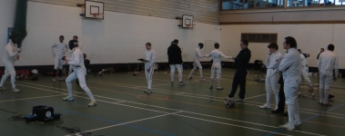 Team epee competition